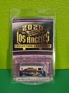 2020 Hot Wheels 34th Annual Collectors Convention LA Volkswagen T1 Panel Bus