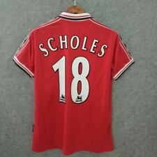 Scholes #18  Manchester united Jersey 1998