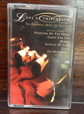 Love at the Theatre. Single Cassette. Free P&P A622