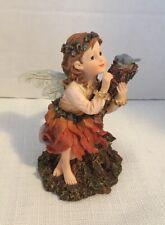Boyds Bear Faeriewood Serenity Faerieperch Quiet Time Fairy Figurine 36022