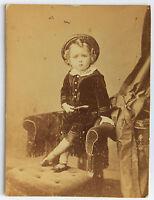Il Piccolo Gentiluomo Vintage Albumina Ca 1870