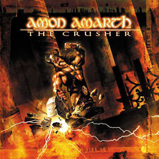 Amon Amarth ‎– The Crusher 2x LP / Vinyl Gatefold Original German Pr (2001)