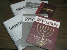 A Beka Genesis First Things Revelation Church History Lot Of 6 Bible Curriculum