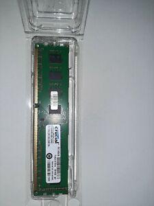 Crucial CT102464BA160B (8GB, PC3-12800 (DDR3-1600), DDR3 SDRAM, 1600 Mhz,...