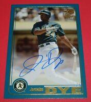 2019 Topps Archives Fan Favorites Jermaine Dye Athletics Auto Autographs #FFA-JD