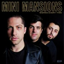 """Mini Mansions - Works Every Time - New Gold Vinyl 12"""" EP - Pre Order - 28/9"""