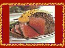 10 GOURMET Filet Mignon Steaks 5 oz WHOLESALE Meat Beef Tenderloin Steak USDA