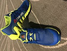 Reebok Zigtech Men's Blue Yellow Athletic Sneakers Running Shoes  Size 13