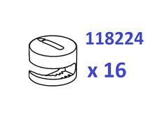16x Ikea Cam Nut OEM Locks Part # 118224 Malm Hopen Brimnes New Replacement GREY