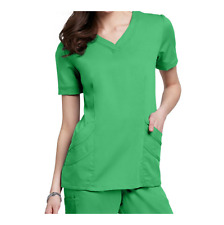 {Small} Urbane Medical Uniform Ultimate Chloe Scrub Tops Color: Kelly/Green
