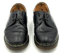 Dr Martens Doc Shoes Womens Size US 5 Black Oxfords Air Cushion Made in England