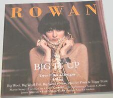 ROWAN Zeitschrift / Strickheft  - - - BIG IT UP  - - -