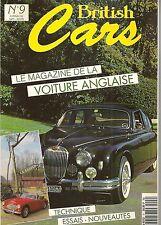 BRITISH CARS 9 JAGUAR MKII HEALEY 3000 MARCOS MANTULA 3L PANTHER KALLISTA 2.8
