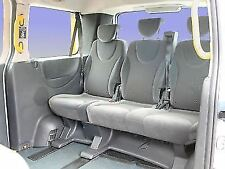 PEUGEOT EXPERT E7 TRIPLE BENCH  VAN SEAT COVERS BLACK QUILTED  120BK