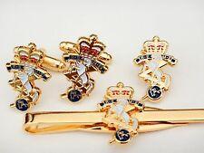 Clip Military Gift Set Reme Cufflinks, Badge, Tie