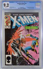 Uncanny X-men #201 CGC 9.2 1st Baby Cable 1986