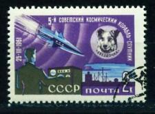 Briefmarken mit Raumfahrt-Motiven aus Russland