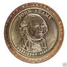 2007P John Adams Pres Dollar Error Coin Matte Edge, Light Incuse Edge Lettering1