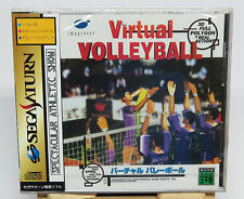 Virtual Volleyball for Sega Saturn Japan JPN Japanese * Brand NEW Sealed *