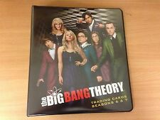 Big Bang Theory Seasons 6 & 7 Official Cryptozoic Binder