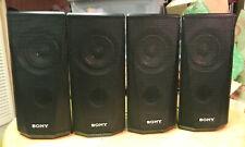 4 SONY SURROUND SOUND SPEAKERS - NICE