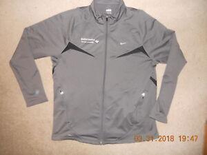 NIKE Chicago Marathon Jacket Unisex Gray Classic Race Start Training Now NikeFit