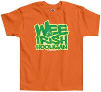 Wee Irish Hooligan Kids Toddler T-Shirt Tee St. Patricks Day Clover Shamrock