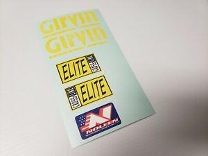 Sticker Decal Set for Girvin Elite Cross Link Fork (fits ProFlex 857)