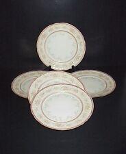Bawo & Dotter Elite Limoges France Porcelain Salad Plates Pink Blue Flowers