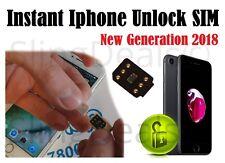 Premium Unlock Chip Iphone Sprint Att Tmobile 5 5s 6 6s 7+ 8 8+ X Xs, Ios12