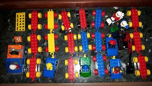 Lego Duplo / Fahrzeuge, Anhänger, Motorrad / Konvolut