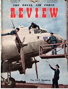 RAF REVIEW OCT 1948 DOWNLOAD: RED AIR FORCE/ V.I.P. SQN/ HAWKER STORY/ MEDALS