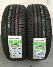 2 x 205/55 R16 Kumho Ecowing ES31 91V 205 55 16 (2055516) - TWO TYRES