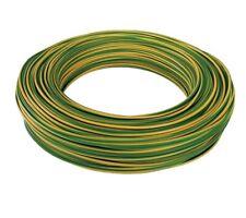 Cavo elettrico unipolare 1x10 mm / cordina massa giallo-verde 10 mmq 100mt