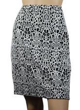 Nylon Floral Above Knee Skirts for Women