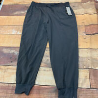 Ideology Womens Jogger Pants Track Sweatpants Size 3X Plus Size Blue New NWT M21