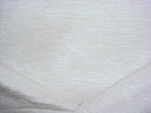 4-1/4Y KRAVET SMART 34731 ANTIQUE WHITE BAR STRAND CHENILLE UPHOLSTERY FABRIC