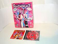 PANDEMONIUM 2 Big box complete pc videogame II