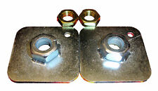 NEW Securon Pair of Threaded Mounting Plates & Nuts 681/4