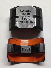 Thomas Amp Betts 15608 Die 107h 800 Kcmil For 15 Ton Hydraulic Crimper Tampb Tbm15