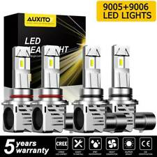 9005 9006 Headlight High Low Beam Bulb For GMC Sierra 1500 2500 3500 2003-2006 4