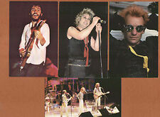 p114 | Vintage PC views, 4 great rockers:  Springsteen, Sting, Bee-Gees, & Ozzy