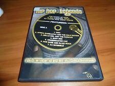 Hip Hop Legends (DVD Full Frame 2007) Used Busy Bee,DMC,DJ Skribble