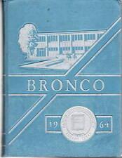 Hardin Simmons University Abilene Texas 1964 Bronco Yearbook Annual College