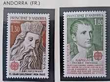 2 X Timbre Stamp Andorra Andorre 1980 YT 284 285 EUROPA CEPT Neufs