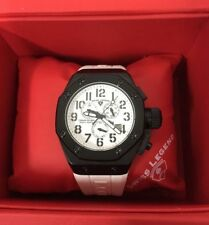 "Brand-new Swiss Legend ""Trimix Diver"" men's chronograph watch, box & papers"