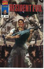 Resident Evil #1 (Marvel 1997)Capcom Giveaway VF-NM! Based on PS1 Video Game!