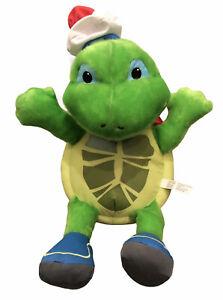 "Wonder Pets Tuck Turtle 18"" Plush 2008 Mattel Fisher Price Stuffed Animal Toy"
