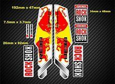 ROCK Shox Reba stile Sospensione Forcella Decalcomania / Adesivi rx12