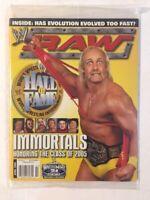 WWE Raw Magazine 2005 April Immortals Honoring The Class of 2005 Hulk Hogan WWF